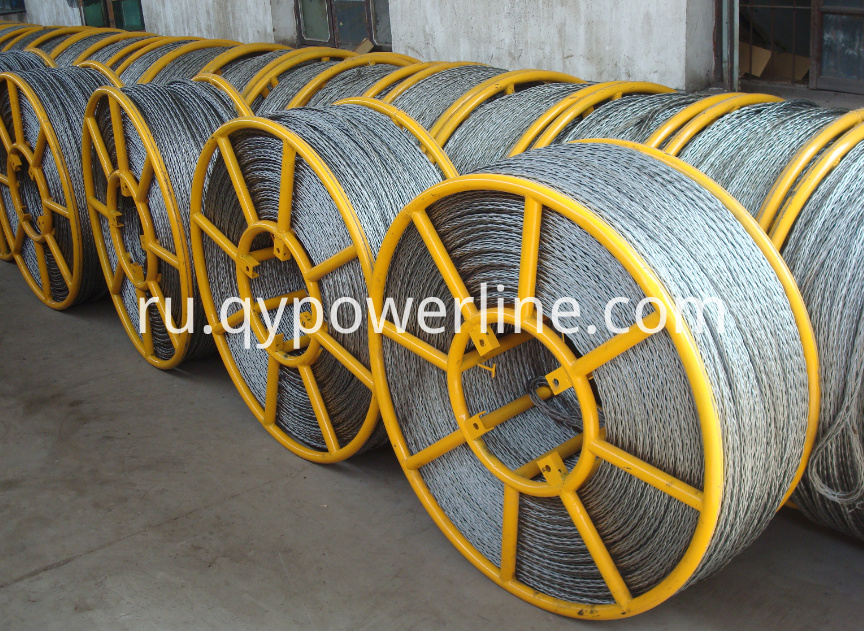 Galvanize Anti Twist Steel Wire Rope