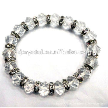 8MM Kristallperlen Armband