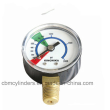 Oxygen Pressure Gauge for Oxygen Gas Regulators