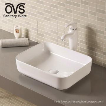 fabricante de porcelana lavabo del baño lavabo del hotel de cerámica