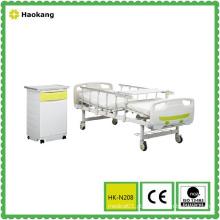 Cama de hospital para equipamento médico manual ajustável (HK-N208)