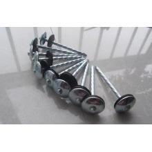 Clous de toiture galvanisé avec tête de parapluie