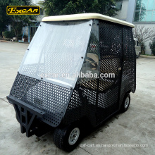 Cerrar carrito de recogida de 2 plazas carrito de golf carrito de golf eléctrico carrito de golf eléctrico