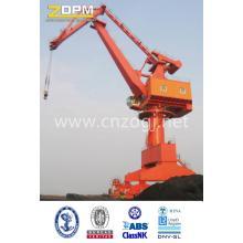 Rail Mounted Floating Dock Sea Port Portal Crane