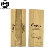 Хлебобулочные упаковка бумажный мешок хлеба с окном