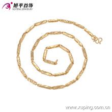 Мода Xuping 18k позолоченные ювелирные изделия ожерелье мужчины в медный сплав 42734