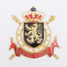 Emblema de botão de metal personalizado
