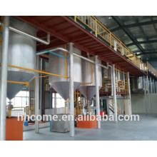 Linha automática da fabricação de óleo de soja, maquinaria refinada do óleo de soja com alta qualidade