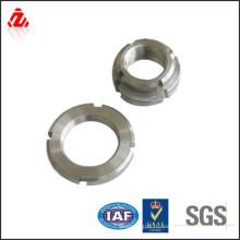 Оцинкованная углеродистая сталь din546 шлицевая круглая гайка