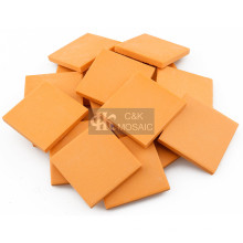 Céramique orange complet du corps en vrac pour l'artisanat en céramique