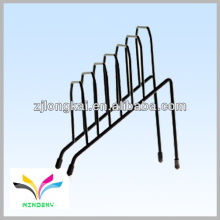 black powder coated wire step file Rack Desktop Organizer Metal