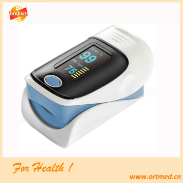 Jari pulse oximeter dengan rotatable display