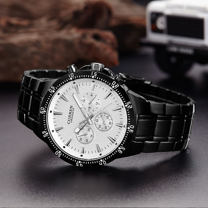 stainless steel strap watch logo custom alloy quartz time pieces
