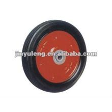 rueda de goma sólida de 10 pulgadas para carro de la herramienta