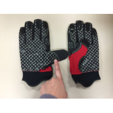 Mechanic Glove-Silicon Gel PAM Glove-Working Glove-Hand Protected-Safety Glove