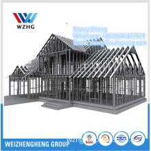Australia Standard Light Gauge Steel Frame Prefab House