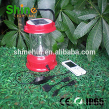 Iluminação de emergência, PVC impermeável solor lanterna para camping iluminação de emergência