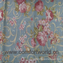 Fashion new design pretty printed polyester fabric Window Curtain