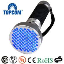 Lampe de poche professionnelle en aluminium UV