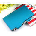 Metal Note Pad Holder with Pen