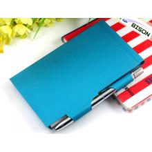 Metall Notizblockhalter mit Stift
