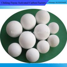 Metais de moagem de bolas cerâmicas de alta alúmina, meios de trituração para indústria de cimento