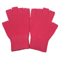 Warme Half-Finger Magic Acrylstrickhandschuhe