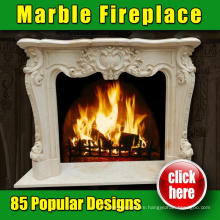 Popular Design Fancy Fireplace with 15 years Factory
