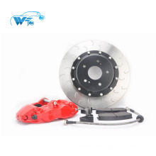 Red modified kit brake caliper for BMW E46 car modle WT9200 4 pot big brake kits
