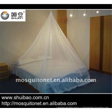 Покрытая инсектицидами противомоскитная сетка