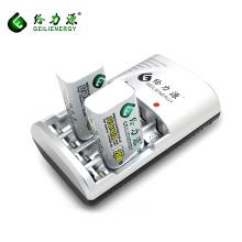 Geilienergy fábrica personalizado longo ciclo de vida 9 v 200 mah nimh baterias recarregáveis