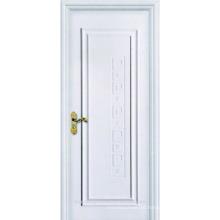 Porta de madeira interior Design branco pintado nova