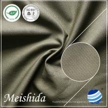 100% tela de algodón (16 + 16) * (16 + 16) / 118 * 58 tejido orgánico impermeable