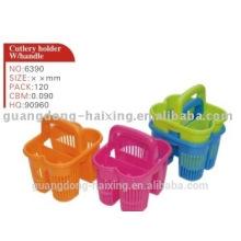 Держатель пластиковый столовые приборы