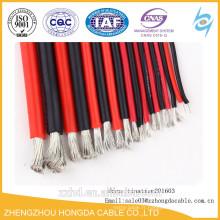 Câble en caoutchouc de silicone / fil 16 AWG fil à hautes températures de noyau flexible