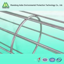 304 316 cage de sac de filtre de poussière d'acier inoxydable
