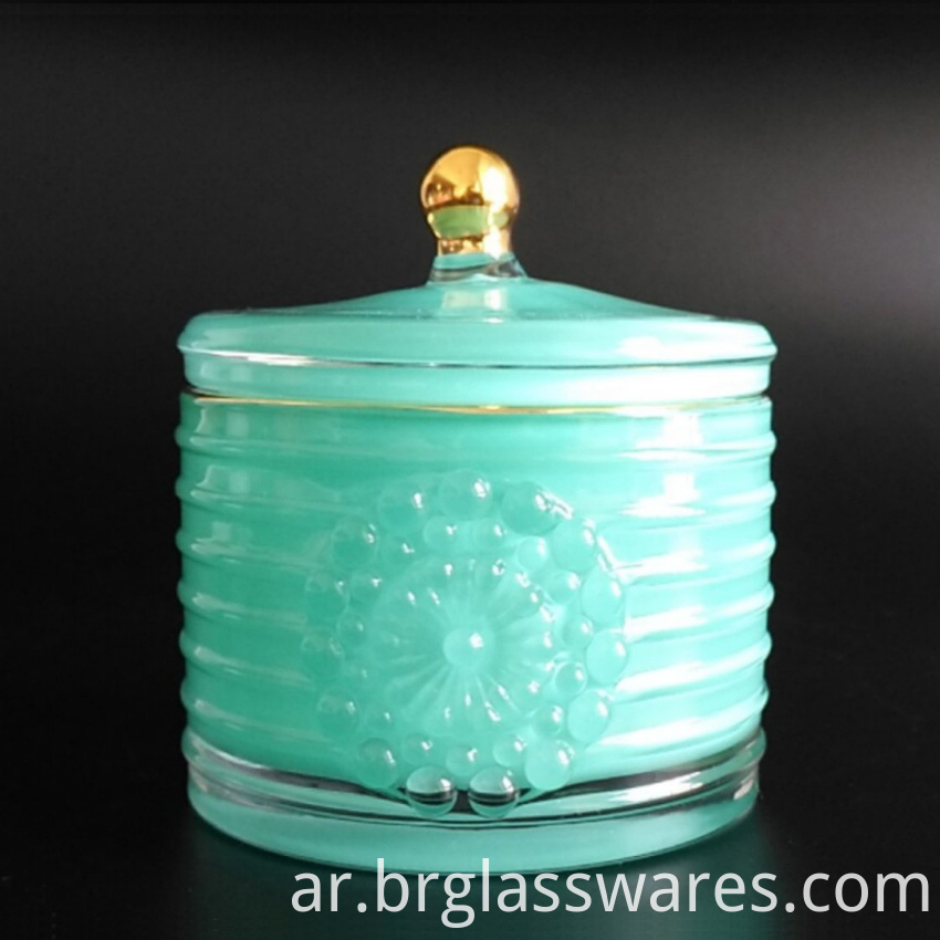 Cylinder Glass Jar 2