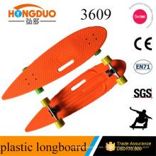 longboard de plástico de alta calidad tablero de mano de 36 pulgadas
