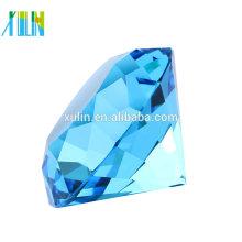 Cristal aigue-marine diamant coupé cristal bijoux Moyen-Orient mariage cadeaux
