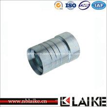 Carbon Steel Interlock Hydraulic Hose Ferrule by CNC Machine (00621)