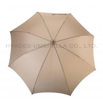 Payung Warna Wanita Manual Open Straight Umbrella