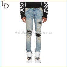 Wholesale new fashion washed jeans pants ripped jeans Wholesale new fashion washed jeans pants ripped jeans  fashion men jeans