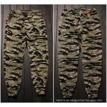 Camo Army Pantalones Pantalones Hombre Estilo Militar