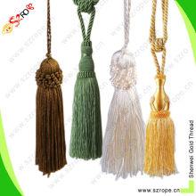 2015 nuevo estilo de Nylon color Home Textile borla borla casquillo borlas decorativos borla