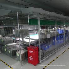 Salle blanche pour l'écran tactile d'affichage à cristaux liquides de téléphone portable