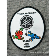 Personalisierte Uniform Polyester Stickerei Patches