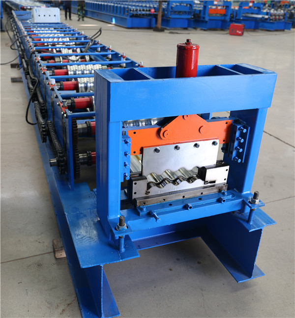 Exterior Wall Cladding Panel Roll Forming Machine