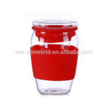 Copo de chá de vidro do escritório perfeito pessoal dos mercadorias saudáveis com filtro / filtro / infusor
