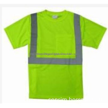 EN471 high visibility safety vest reflective T-SHIRT