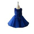 2018 hochwertige ärmellose lässige neue Modell Blumenmädchen Kleid